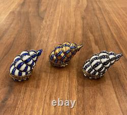 3 Seashells Vintage Limoges Box