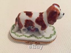 ARTORIA Limoges Cavalier King Charles 231/1000. Made In France. Retail $245.00