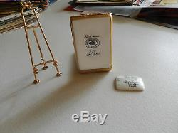 AUTHENTIC LIMOGES BOX easel vincent van gogh limited 452 of 750 france