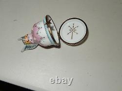 AUTHENTIC LIMOGES fairy god mother france TRINKET BOX