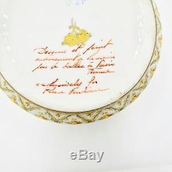Atelier Camille Le Tallec Limoges France Porcelain Trinket Box for Place Vendome