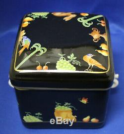 Atelier Le Tallec for Tiffany & Co Private Stock Black Shoulder Biscuit Tea Box