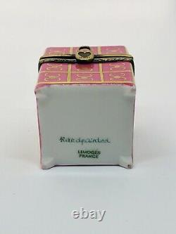 Beautiful French vintage scent Bottle trinket box from Limoges