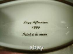 Bernardaud Kermit The Frog Lazy Afternoon 1996 Limoges Box Peint Main France