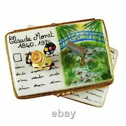 Book Monet Water Lillies Limoges Box