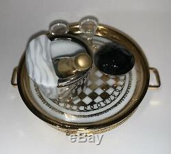 Caviar & Champagne Limoges Box by Rochard