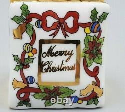 Christmas Shopping Bag Limoges Box