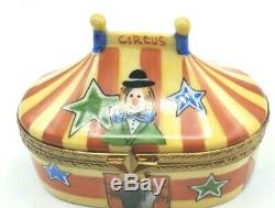 Circus Tent Limoges Box