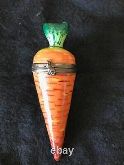 Collectibles Limoge Carrot Trinket Box France