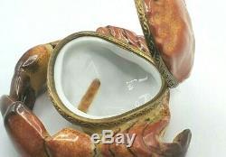 Crab Limoges box