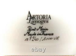 Cupcakes Tray Peint Main France Artoria Limoges Ceramic Trinket Box Removable
