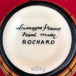 Decorative Limoges Porcelain Trinket Box