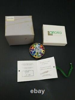 Disney Limoges Artoria Hunchback of Notre Dame Esmerelda's Goat Trinket Box