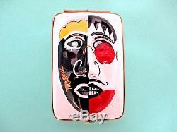 Dubarry Limoge Porcelain Box Mask Michael Bolton Limited Edition #66