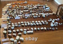 EUC! One Lot of Limoges & porcelain boxes. Majority are Paint Mein