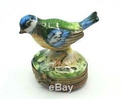 Eastern BluejayLimoges Box (Retired)