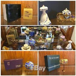 Estate lot 18 Limoges made in France trinket Boxes rare Signed number SHORT SALE