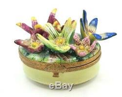 Flower Garden Limoges Box RETIRED