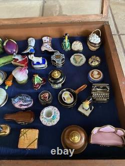 French limoges trinket box Lot