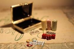 GR Atelier d'Art de Limoges Box Poker Set
