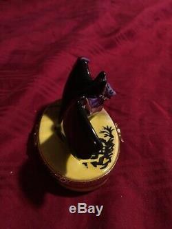 Halloween Bat Limoges Box