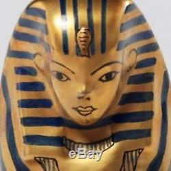 Handpainted Limoges France Trinket Box With Figural Egyptian Sphinx, Chanille