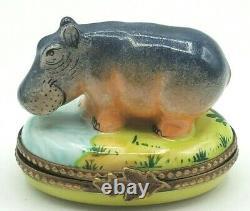 Hippo Limoges Box (Retired)