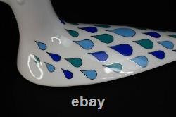Jonathan Adler Pop Menagerie Dove Bird Trinket Box Lidded Bowl Dish Rare