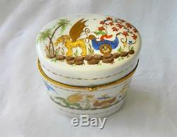 LE TALLEC For TIFFANY & Co PORCELAIN BOX 1960's France PRIVATE STOCK Large 5