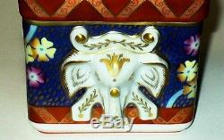 Limoges Box Tiffany Private Stock Le Tallec Floral & Elephant Handles 1986
