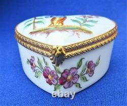 Le Tallec Limoges Box Chinoiserie Heartjardin De Chine Garden Scene 1998
