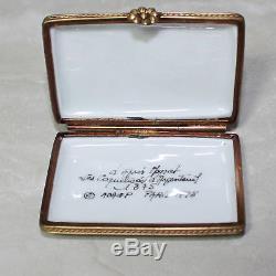 Limgoes France Trinket Box Peint Main Monet Les Coquelicots d'Argenteuil 250/700