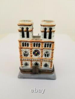 Limoge Notre Dame Box with tiny Hunchback inside RARE