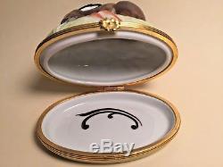 Limoges Box BUNNY RABBIT TIFFANY Peint Main France Rare