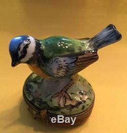 Limoges Box Bird Peint Main France