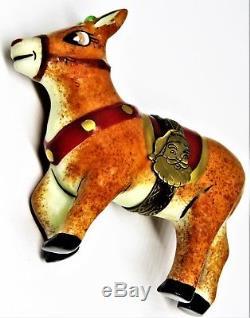 Limoges Box Christmas Elda Rudolph The Red Nosed Reindeer Santa Claus