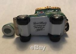 Limoges Box Holiday Delivery Truck With Tree
