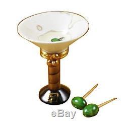 Limoges Box Martini Glass