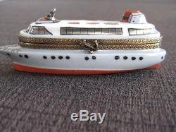 Limoges Box Mint Condition Ship Chanille Peint Main Limited Edition 77 Of 143