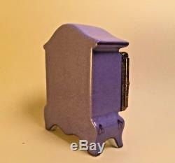 Limoges Box Purple ARMOIR DRESSER ROCHARD Peint Main France Vintage