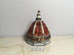 Limoges Box SANTA MARIA DOME Florence EXIMIOUS Peint main France Vintage