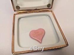 Limoges Box TAJ MAHAL ARTORIA 91/1000 Peint Main France RARE Vintage