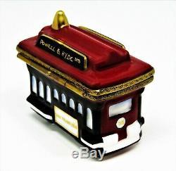 Limoges France Box Rochard San Francisco Cable Car