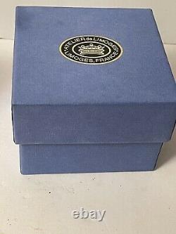 Limoges France Peint Main Cinderella Carriage Trinket Box Jeweled Slipper NIBox