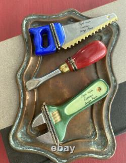 Limoges France, Tools Trinket Boxes Set Of 3