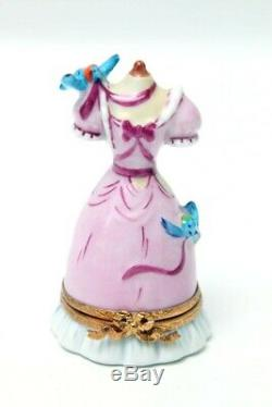 Limoges France Trinket Box Cinderella Ball Gown Disney Artoria