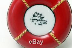 Limoges France Trinket Box Donald Duck on Lifesaver Tube Disney Artoria