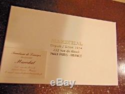 Limoges Monceau Arquie Ltd Edition 032/750 Peint Main 6 Trinket Box