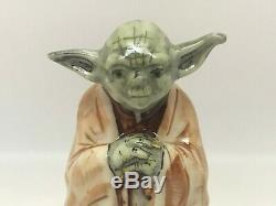 Limoges-Peint Main-Rochard-Trinket Box-Yoda Jedi Master From Star Wars-RARE