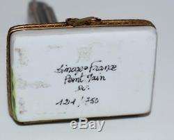 Limoges Peint Main Trinket Box-Empire State Bldg Lim Ed 121/750- 4.75L-Exc